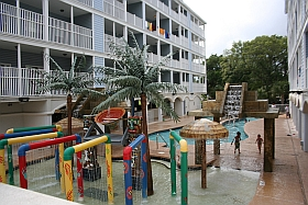 Large Vacation Rental Condo in Myrtle Beach Villas II sleeps 6,7,8,9,10,11,12,13,14,15,16,17,18,19,20 pool view 1